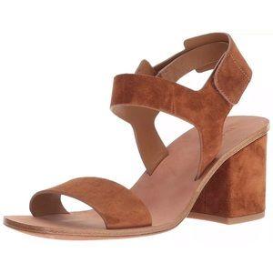 Via Spiga Women's Suede Ankle Strap Sandals